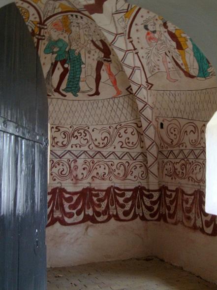 Nye Kalkmalerier i Aunsø gamle Kirke 1