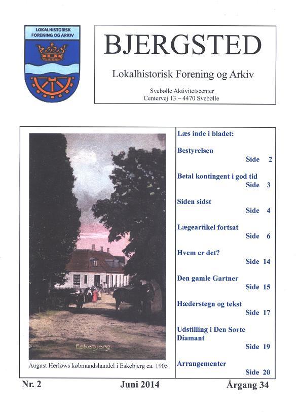 Medlemsbladet forside juni 2014 red.