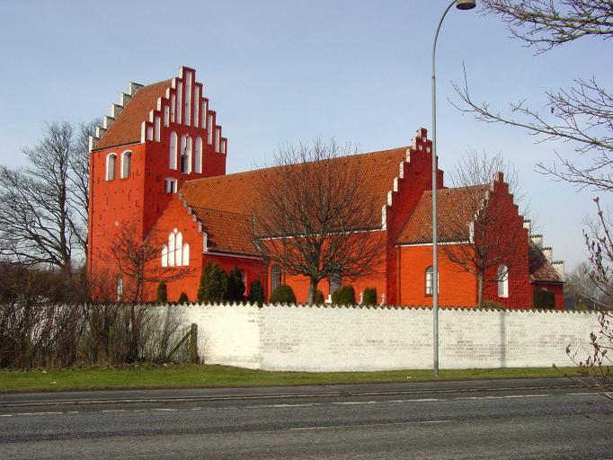 Bregninge Kirke fotograferet d. 26. feb. 2013 - Foto: Flemming Paulsen