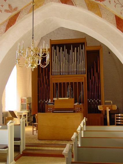 Bregninge Kirkes orgel - 26. feb. 2013. Foto: Flemming Paulsen