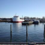 Den nye Nekseløfærge 11. marts 2014
