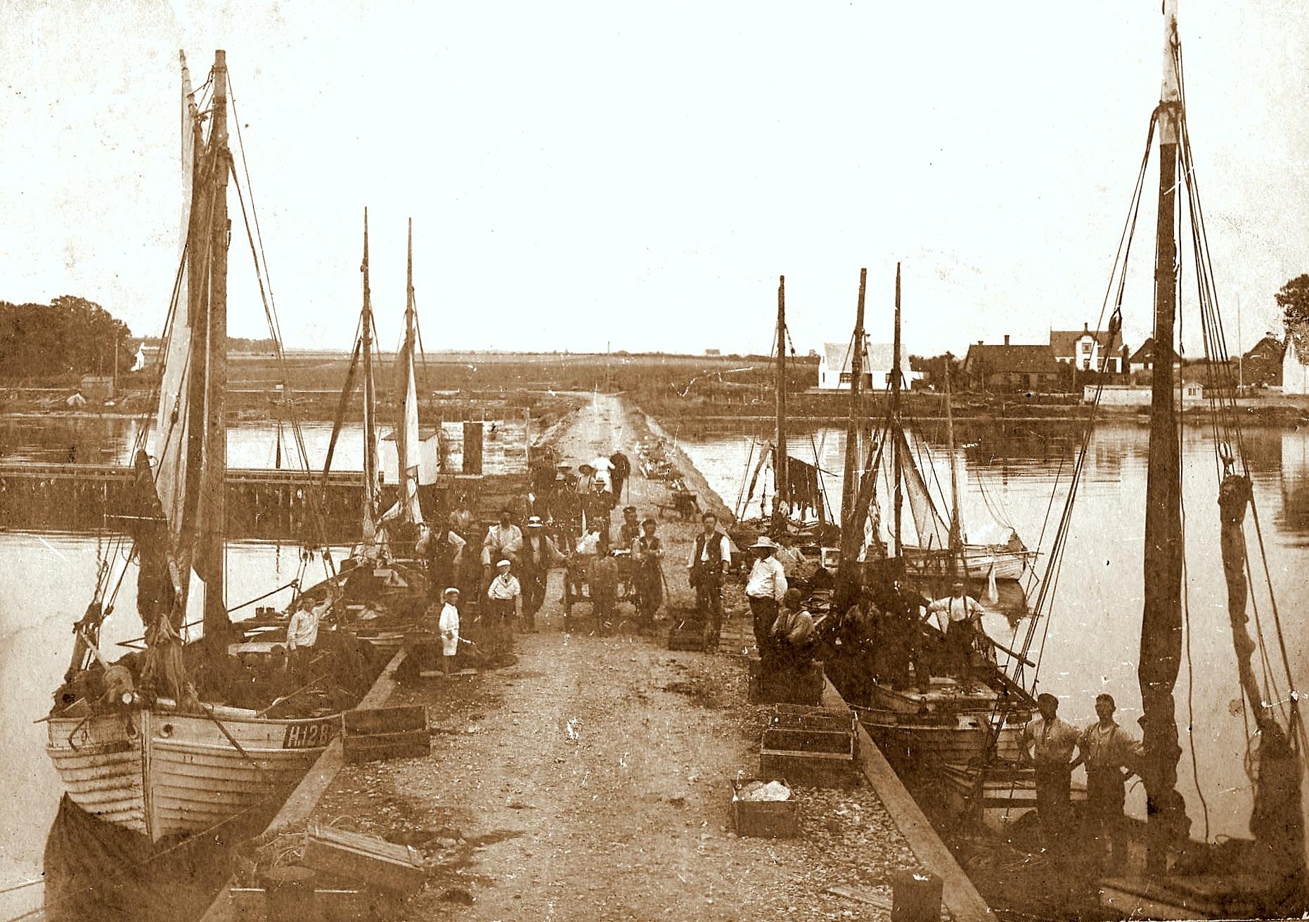 Havnsø Havn ca. 1912