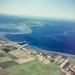 Luftfoto af Havnsø 1956