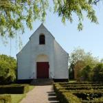 Nekselø Kirke (foto: Visit Vestsjælland).