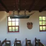 Nekselø Kirkes kirkerum med kirkeskib