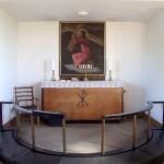 Nekselø Kirkes alterparti.