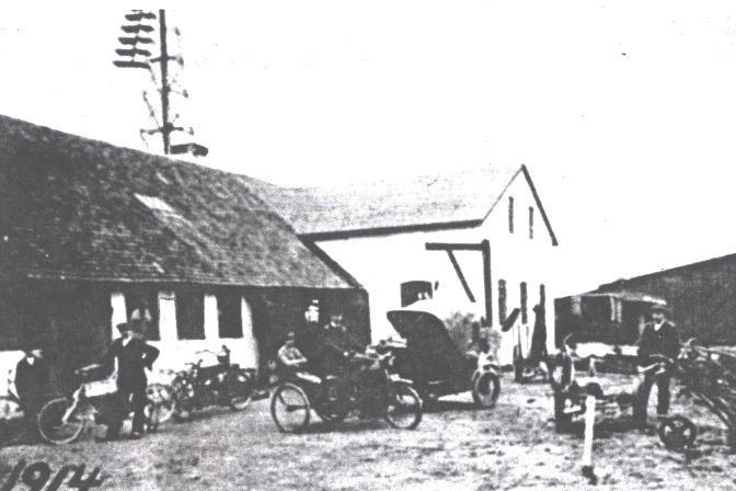 Snertinge Maskinfabrik ca. 1914