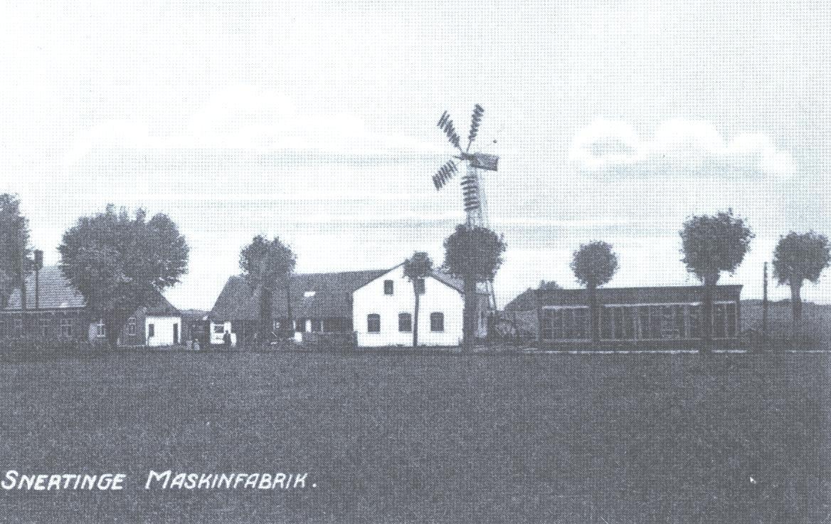 Snertinge maskinfabrik ca. 1915