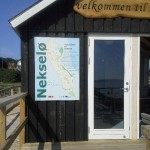 Indgangspartiet til Nekselø Havns passagerly.
