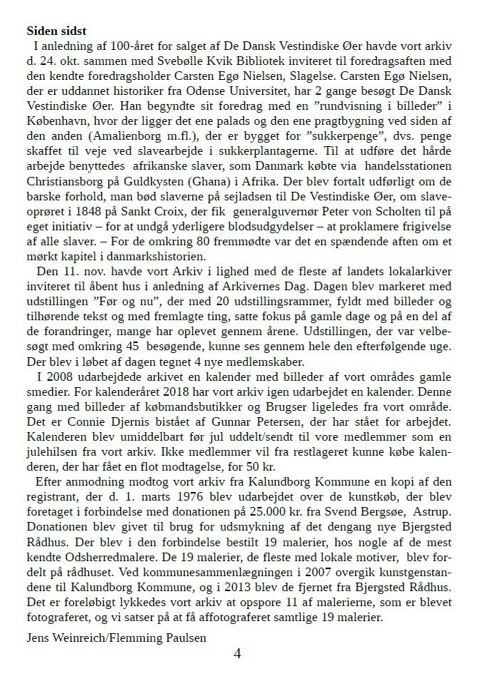 Medlemsbladet nr. 1 2018 side 4A