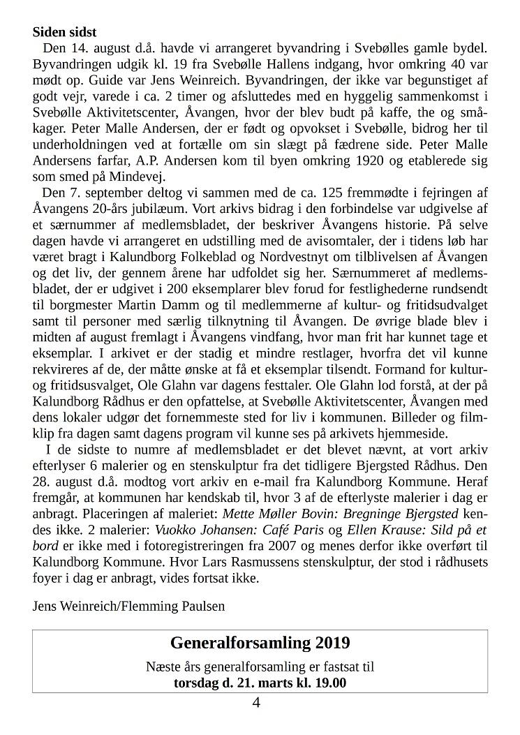 Medlemsbladet nr. 3 oktober 2018