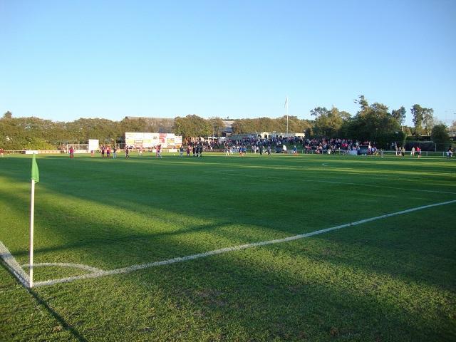 Den iøvrigt udmærkede dommer har fløjtet kampen af. Resultat: 5-1 til FC Vestsjælland. Foto: FP