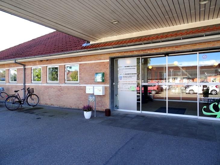Indgangspartiet til Svebølle Aktivitetscenter