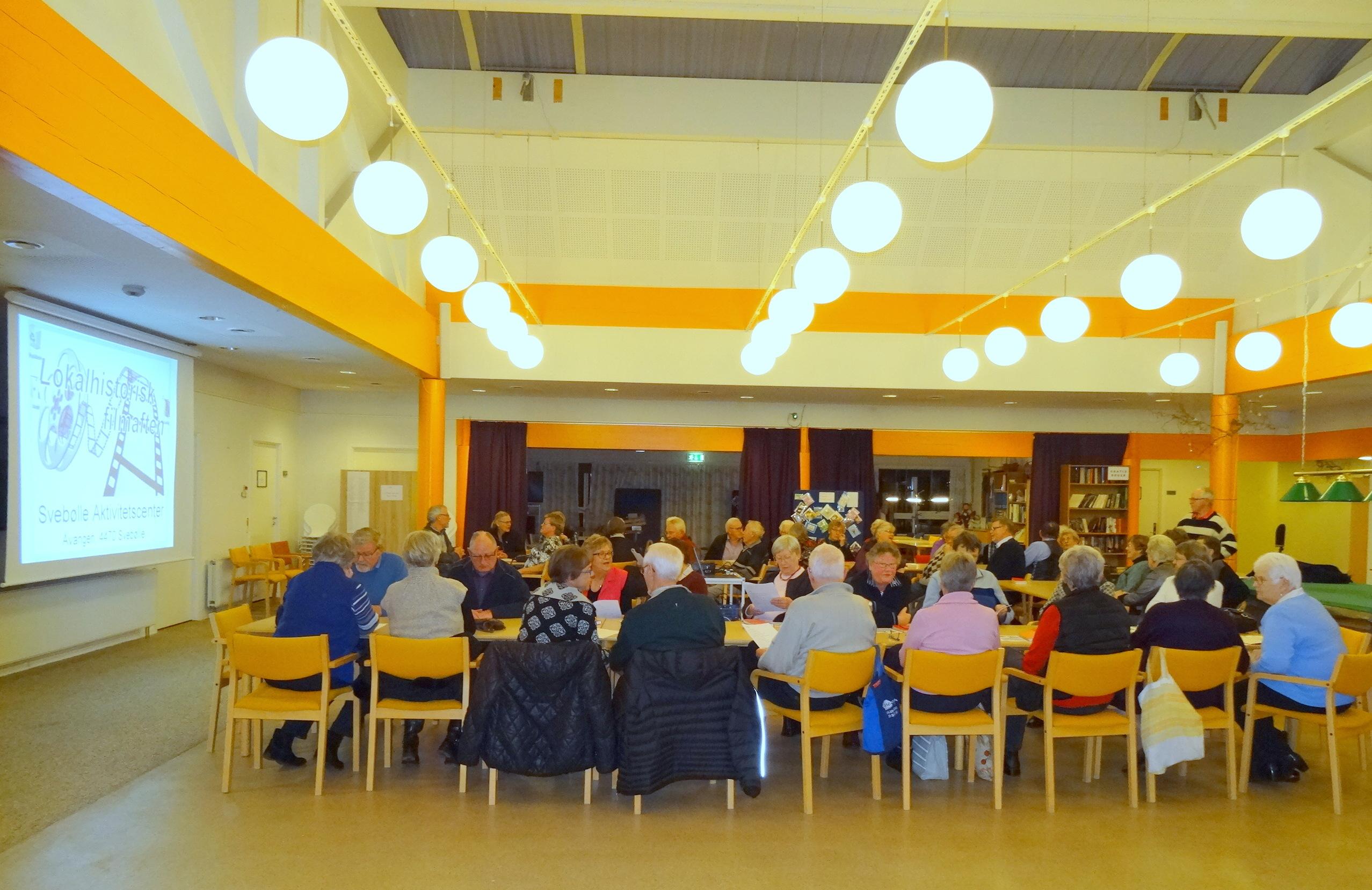 Lokalhistorisk filmaften i Svebølle Aktivitetscenter