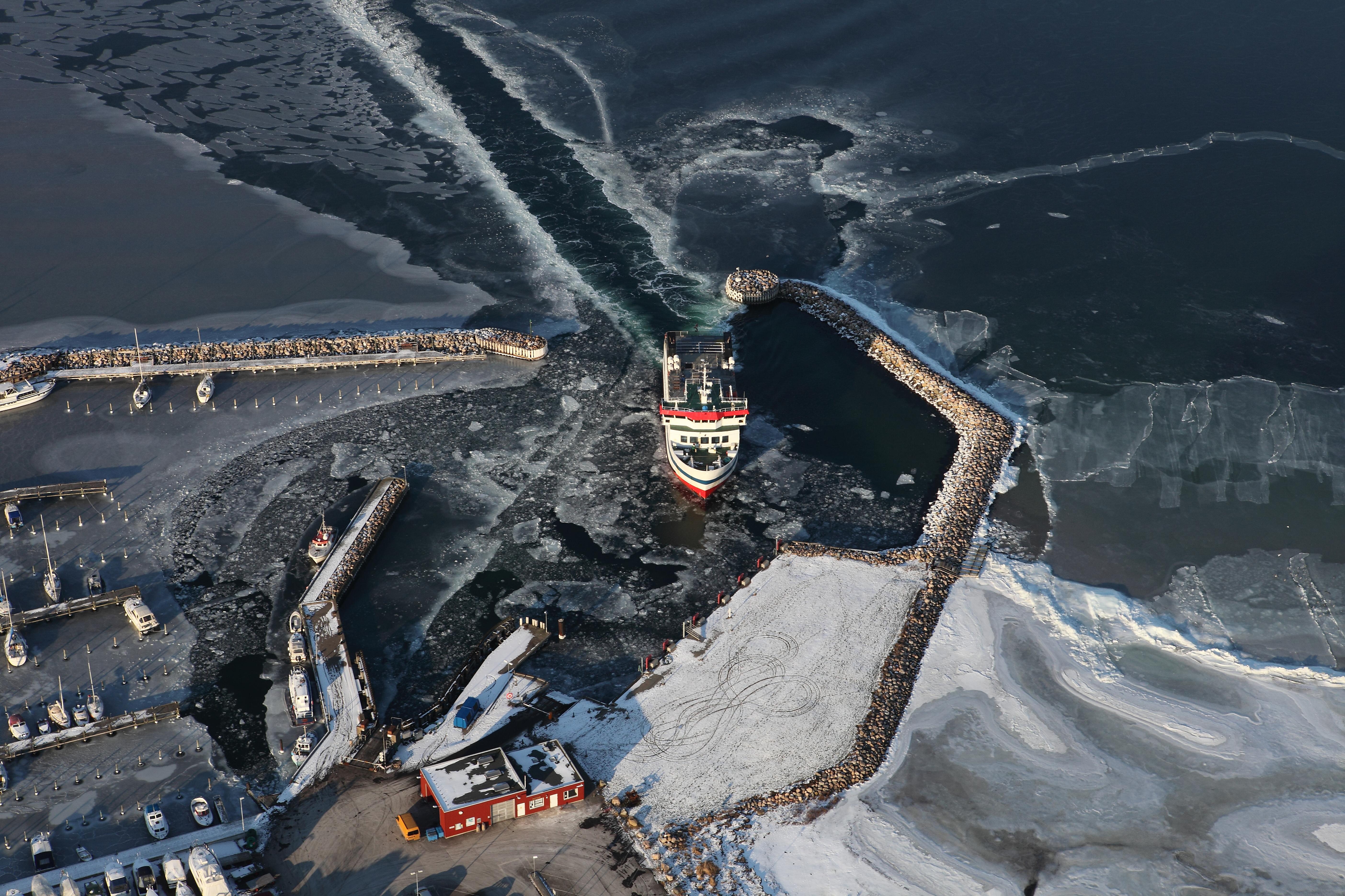 Havnsø Havn - Vinter