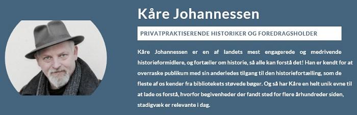Historikeren Kåre Johannessen A